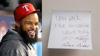 Prince Fielder Calls Guy an