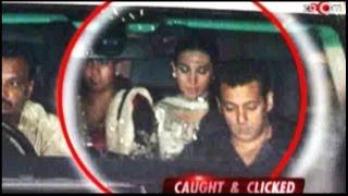 Aishwarya Rai, Salman Khan, Abhishek Bachchan, Karisma Kapoor at Ambani