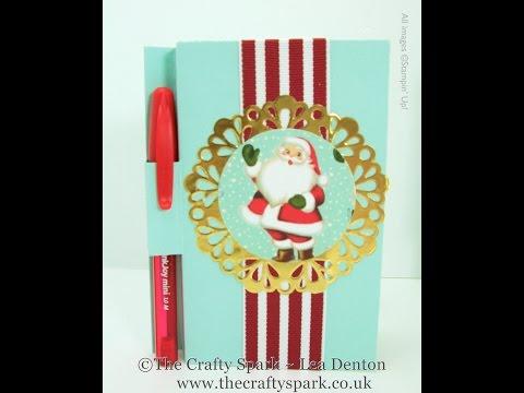 Christmas Santa Post It Note Cover