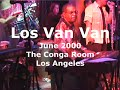 Capture de la vidéo Los Van Van - Conga Room - La - June, 2000 (Piano Closeup) (Full Concert)