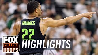 Michigan State vs Indiana | Highlights | FOX COLLEGE HOOPS