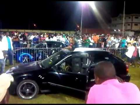 AXA BASS HEADS CAR SHOW 2011 BULL VS GLENDON