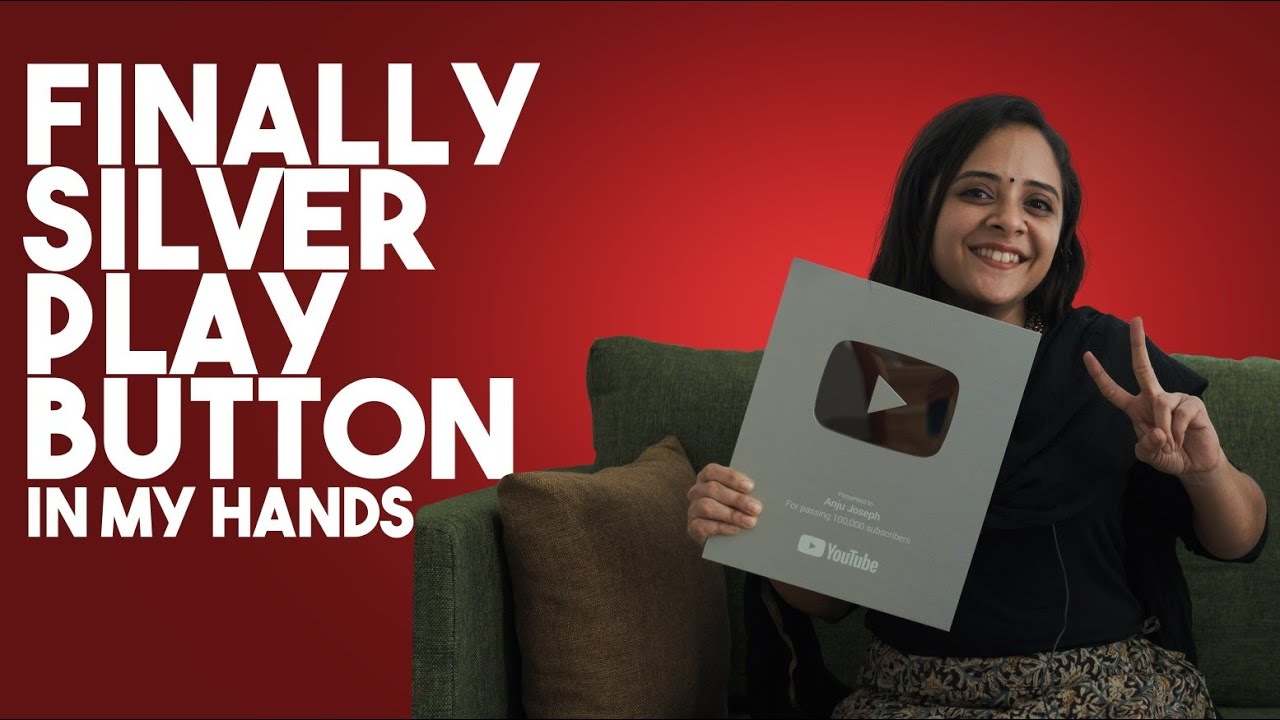 SILVER PLAY BUTTON IS HERE❤❤