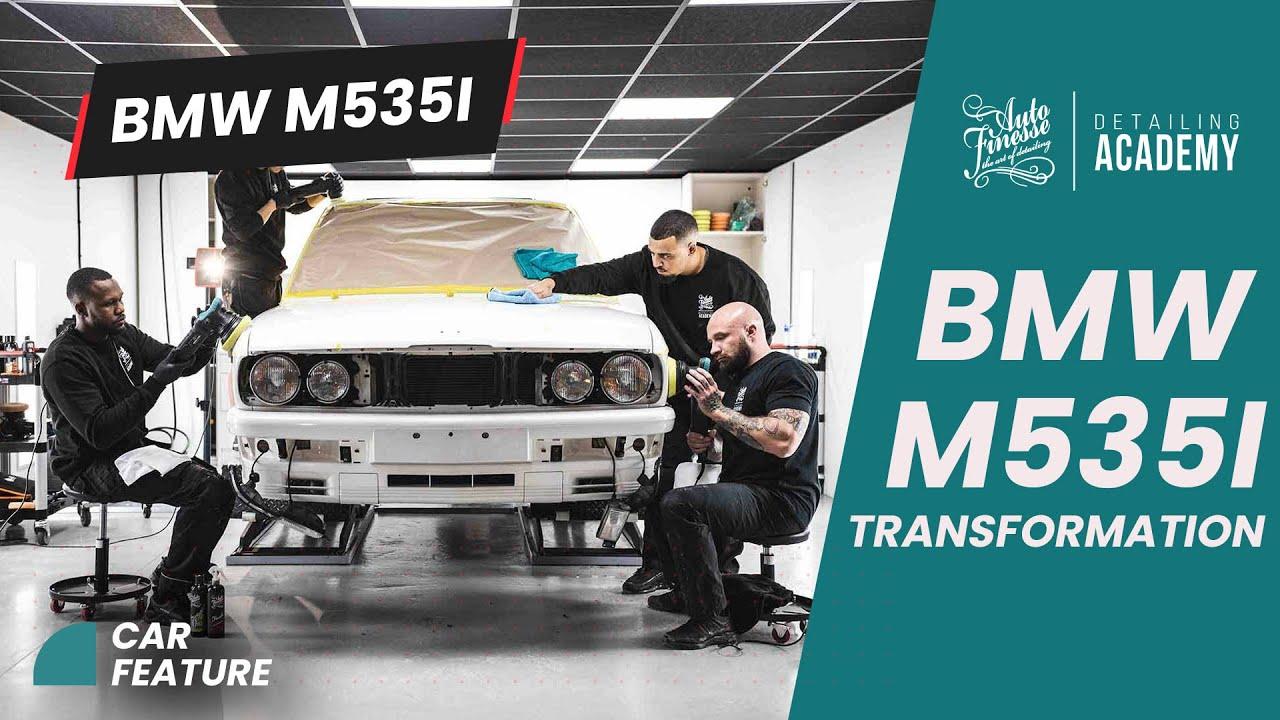 Auto Finesse - The Big BMW M535i Transformation Detail