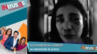 Eileen Moreno declara sobre Alejandro García | Intrusos