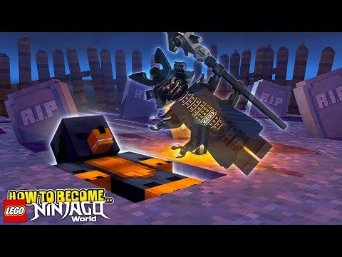 Minecraft HOW TO BECOME LORD GARMADON FROM LEGO NINJAGO