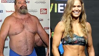 Ex-UFC Fighter Tank Abbott Challenges Ronda Rousey