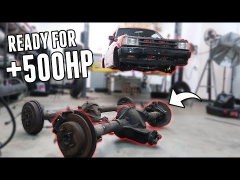 New Solid Rear Axle for the Truck! - Project Drift Truck Pt 3