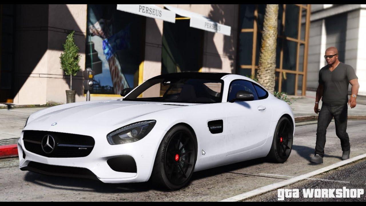 Mercedes Amg Gt R >> GTA 5 MOD | Mercedes-Benz AMG GT - 2016 | ENB PC - 60 FPS - YouTube