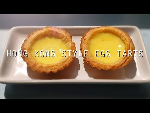 Simple Egg Tarts (Easy Recipe) ~Hong Kong Style~
