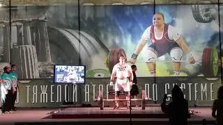 Алексей Ловчев 209,5 кг Рекорд России Ось Аполлона