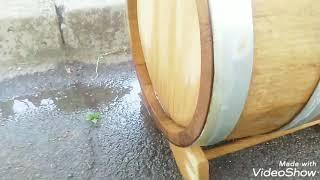 Ремонт дубовой бочки