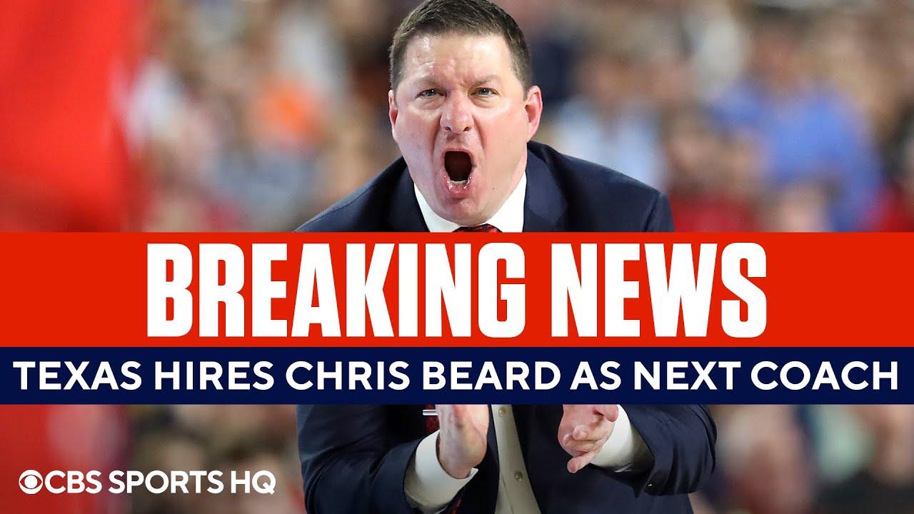 Texas basketball hires Texas Tech's Chris Beard as new head coach