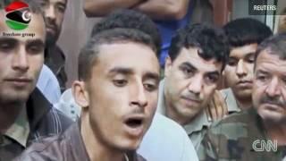 the horrific death of col gadaffi beware this is a horror video