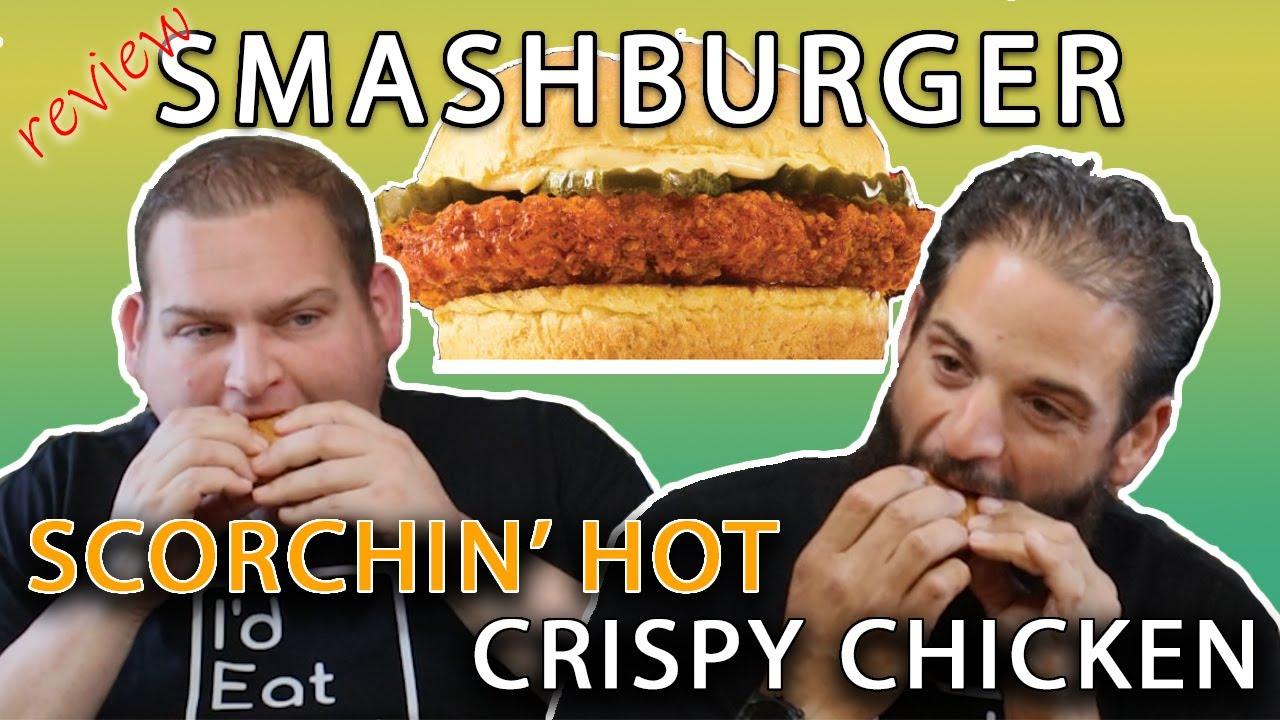 Smashburger Scorchin' Hot Crispy Chicken Sandwich