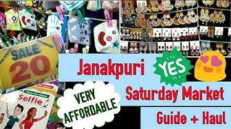 Janakpuri Saturday Market | Guide + Shopping Haul
