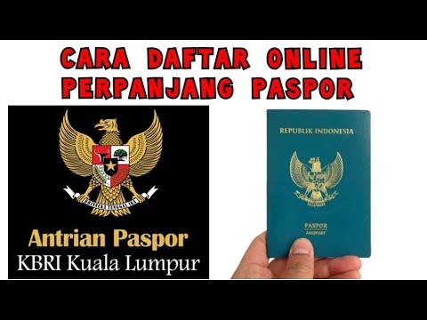 Cara Daftar Online Perpanjang Paspor Di KBRI Kuala Lumpur