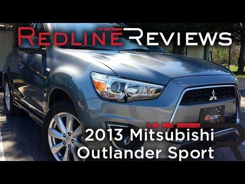 2013 mitsubishi outlander sport – redline: review - youtube