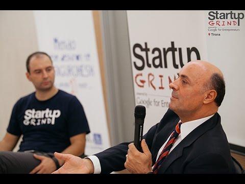 Avni Ponari (SIGAL UNIQA GROUP AUSTRIA) at Startup Grind Tirana