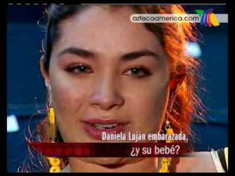 Daniela Luján y la verdad sobre su bebé