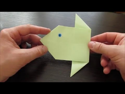 How To Make Origami Moon Fish Youtube