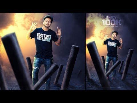 Enjoy This Time - Photoshop Photo Manipulation tutorial