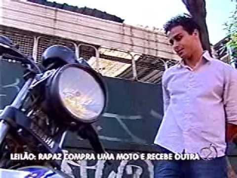 Rapaz compra uma moto em leilão e recebe outra