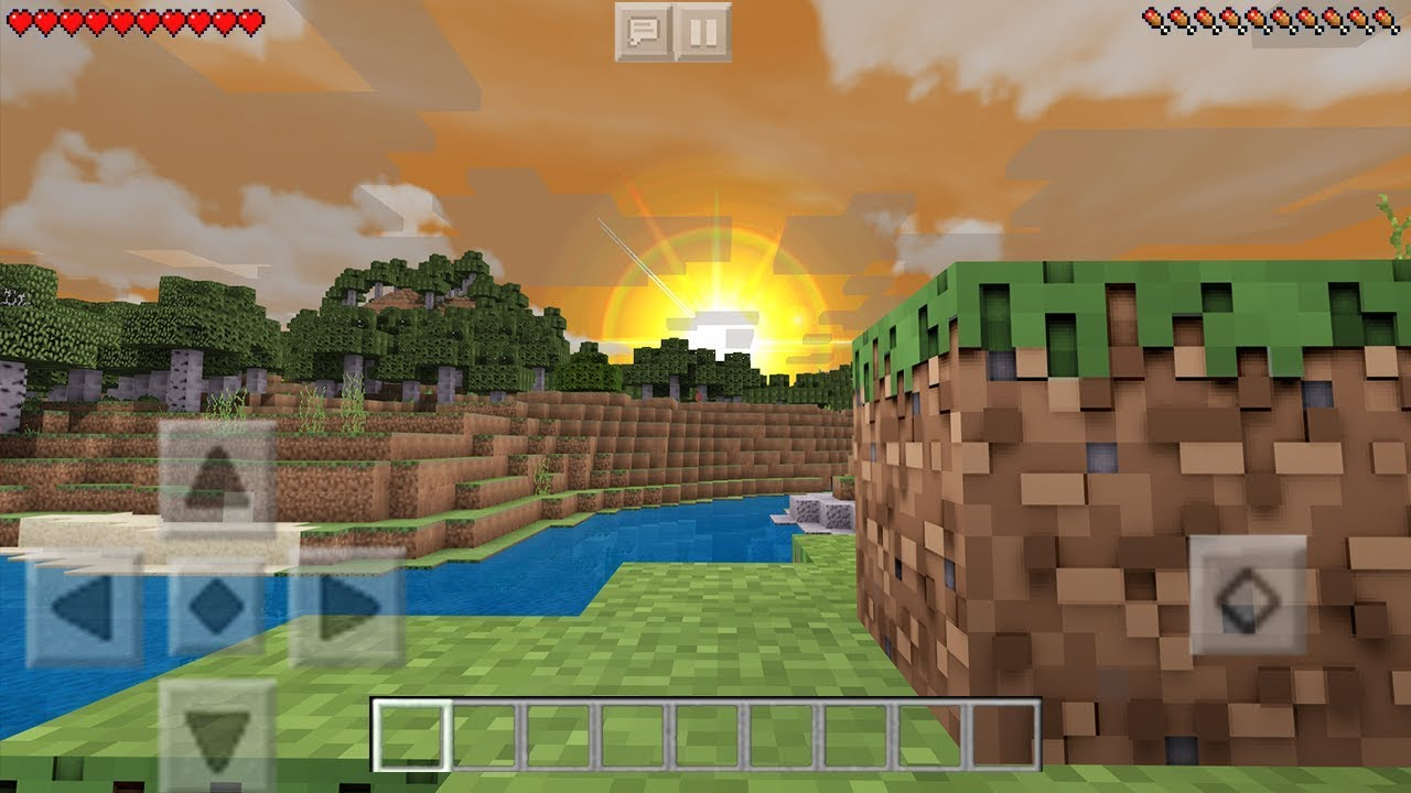 MCPE 1 8+ BEST REALISTIC SHADERS IN MCPE