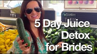 Juice Detox for Brides - Natural Wedding Weight Loss Plan