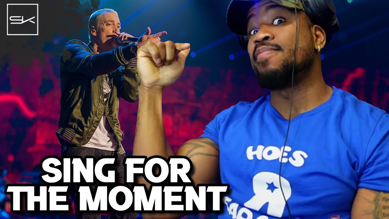 EMINEM - SING FOR THE MOMENT - OFF TOPIC BUT MAN, I HOPE EM CLAPS BACK AT ALL THESE CLOWNS!
