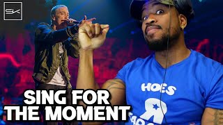 Download EMINEM - SING FOR THE MOMENT - OFF TOPIC BUT MAN, I HOPE EM CLAPS BACK AT ALL THESE CLOWNS!