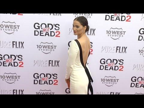 """Gianna Simone """"God's Not Dead 2"""" Premiere Red Carpet"""