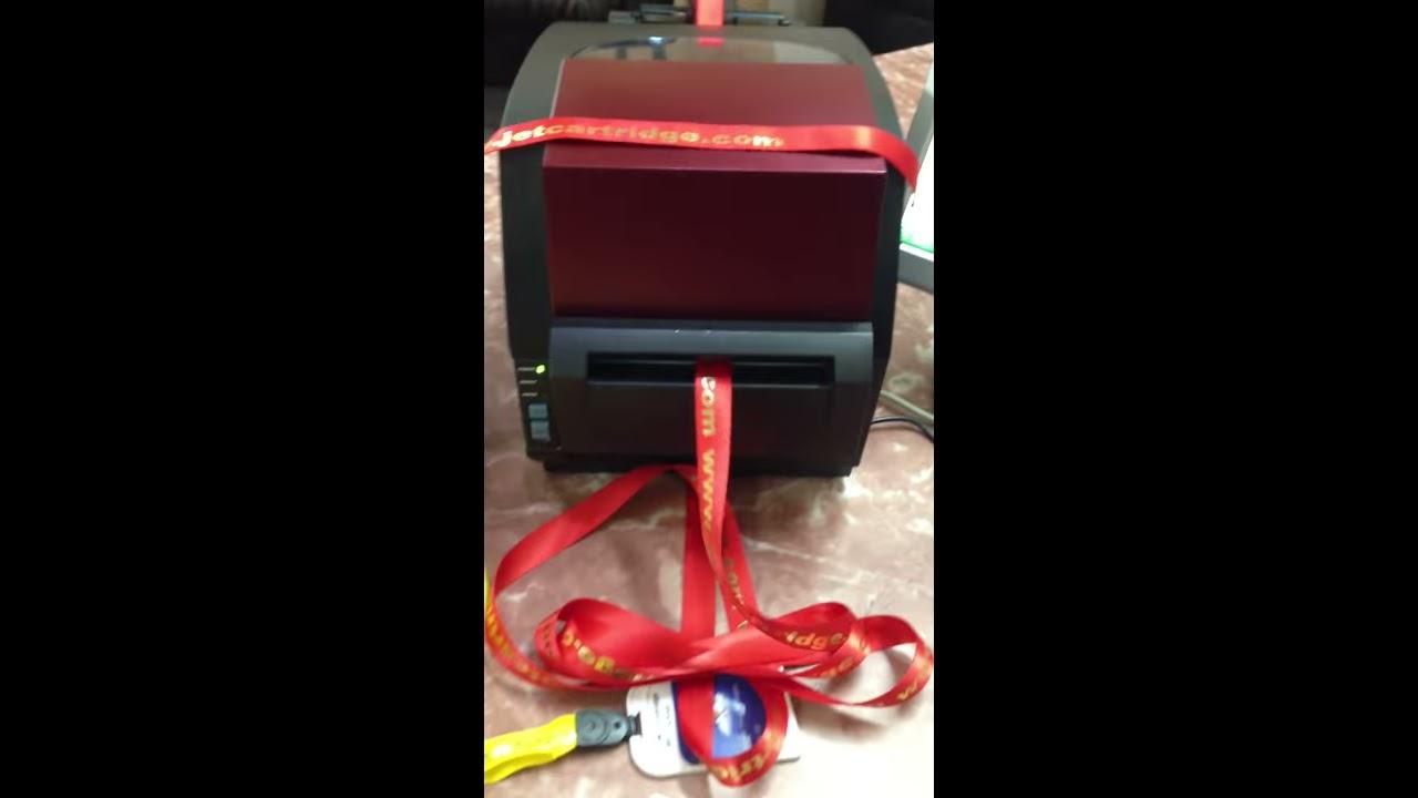 Id Card Lanyard Digitel Inkjet Printer Youtube