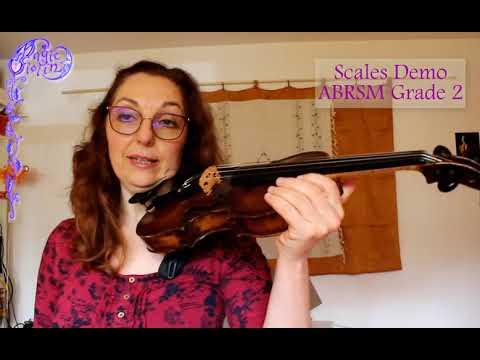 ABRSM Grade 2 Violin Scales - DEMO