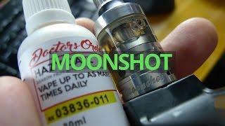 Sigelei Moonshot Review + Wick and Build It + Hazy Daze eliquid from Doctor's Orders! VapeAM Ep 23