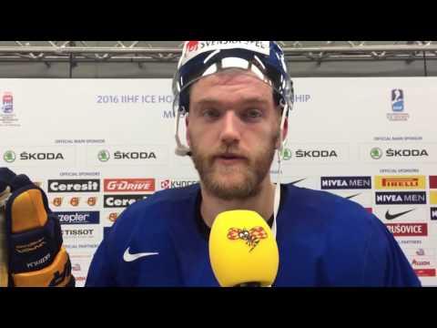 Mattias Ekholm kastas in mot Ryssland i VM