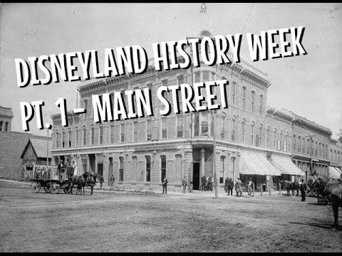 Disneyland History Week V2 - Main Street, Marceline And Fort Collins Co.