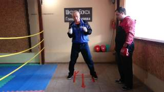 Школа бокса Геннадиря Аношкина. Урок 12: нырки и комбинированная защита.