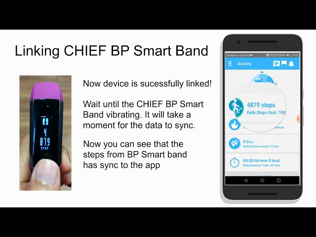 Setting Up CHIEF BP Smart Band Guide