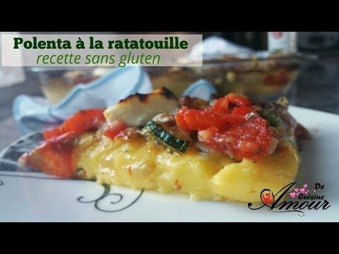 plat-sans-gluten,-gratin-de-polenta-à-la-ratatouille-au-thermomix