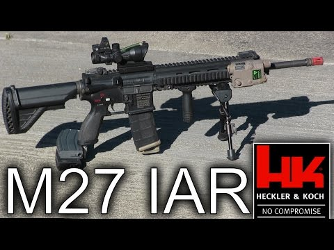 Airsoft Gun Review of the VFC M27 IAR - Worth $450