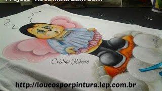 Abelhinha zumzum – Pintura em tecido