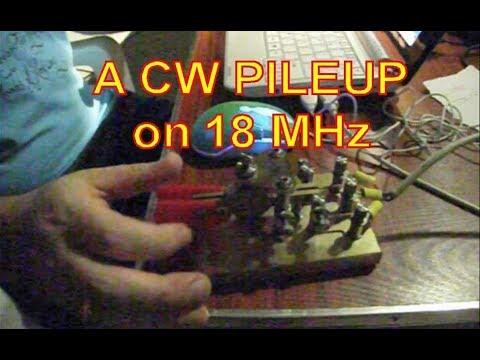 Vanuatu CW Pileup