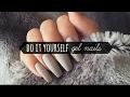 DIY Gel Nail Manicure