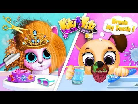 Kiki & Fifi Pet Friends Кики и Фифи питомцы Друзья