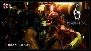 Resident Evil 6 PC Gameplay (Solo) - The Mercenaries No Mercy - Urban Chaos