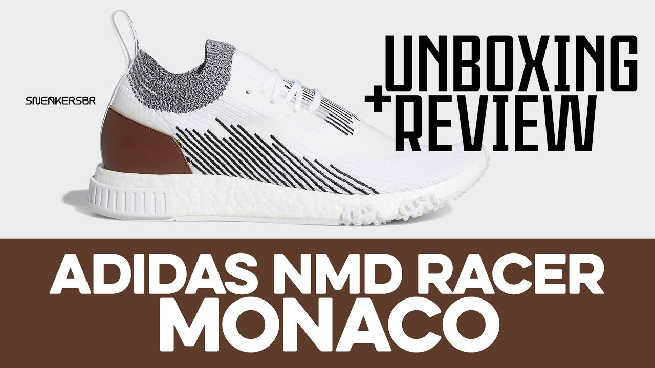 7cfd65cbc1 UNBOXING+REVIEW - adidas NMD Racer Monaco - YouTube