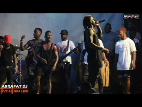 DJ ARAFAT EN CONCERT LIVE AU NPA LIVE