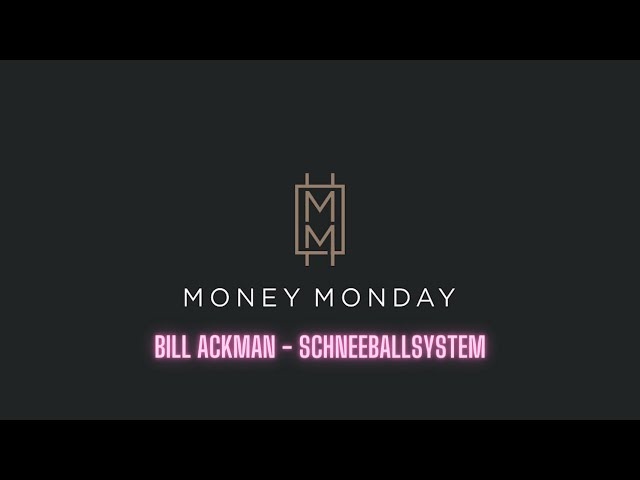 Sparplan für 10€ Trade Republik - Bill Ackman - Schnellballsystem