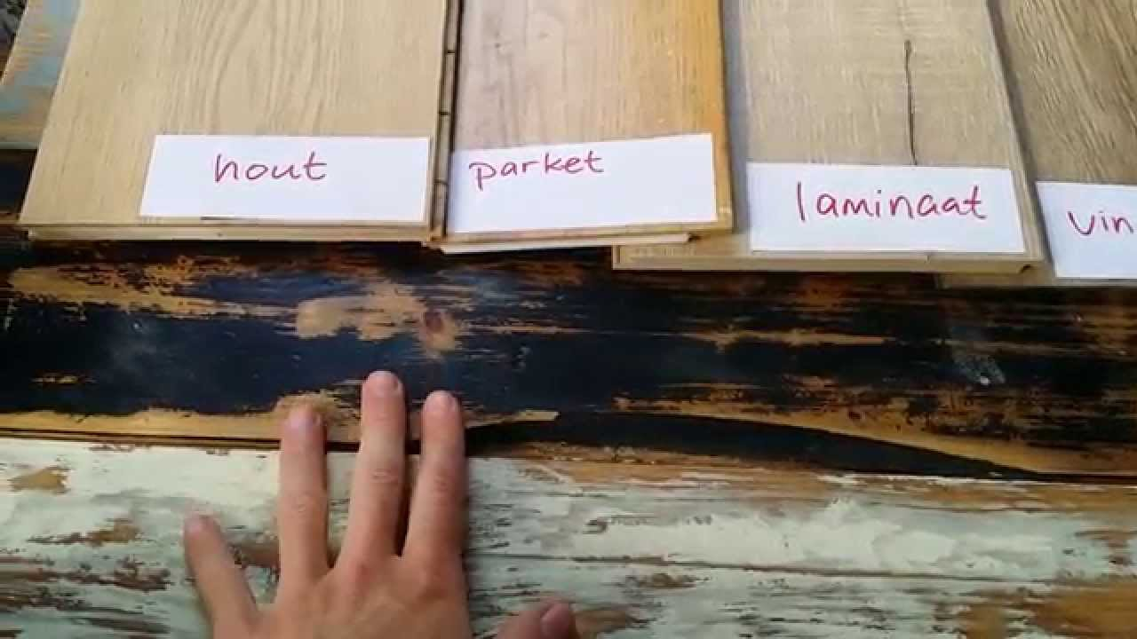 Houten vloer of vinyl of laminaat of parket tips! youtube